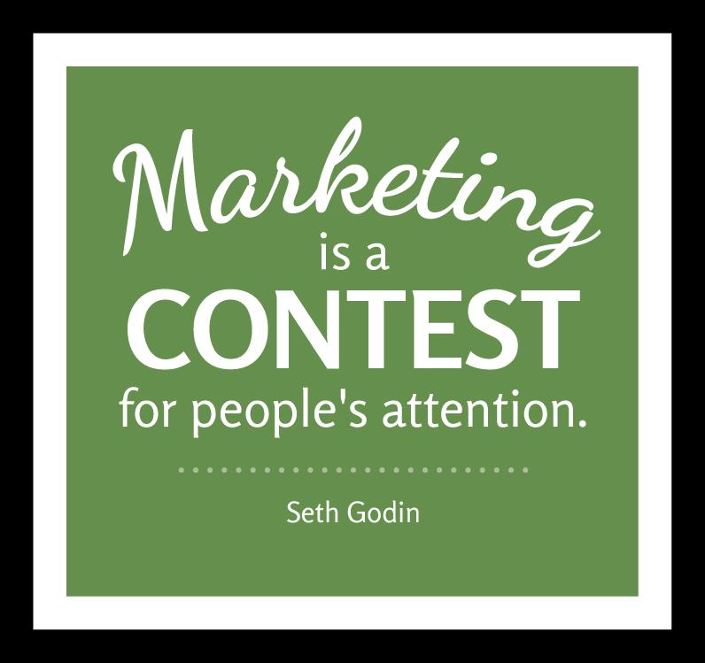 Bruce Bertman marketing quote.